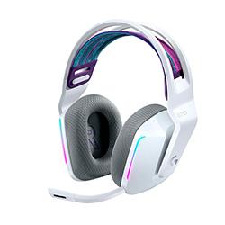 Audifono + Microfono  Gamer G733 Inalambrico Lightspeed Rgb Blanco Logitech