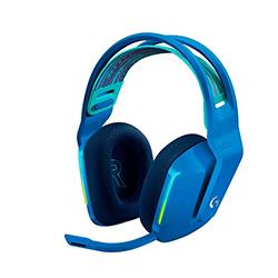 Audifono + Microfono  Gamer G733 Inalámbrico Lightspeed Usb Rgb Azul Logitech