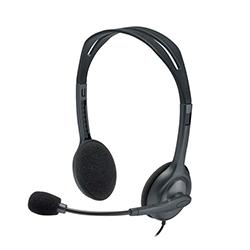 Audifono + Microfono Logitech H111 1 Conector 3.5Mm