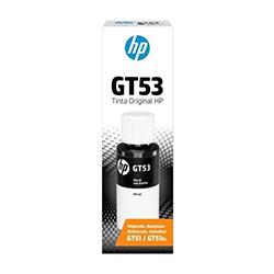 Botella De Tinta Hp Negro Gt53 1Vv22Al Para Wl315/Wl415/Wl515/Wl519/Wl530/Gt5820/Gt5810 Rinde 4.0