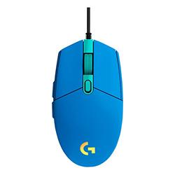Mouse  Alambrico Gamer G203 Lightsync Usb Azul Logitech
