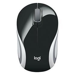 Mouse Inalámbrico M187 Color Negro-Blanco Logitech