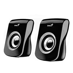 Parlante SP-Q180 Gris, 6w, USB, E. Audio 3.5mm, Control de Volumen Genius