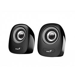 Parlante SP-Q160 Gris, 6w, USB, E. Audio 3.5mm, Control de Volumen Genius
