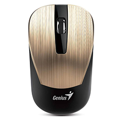 Mouse NX7015 Gold Wireless Genius