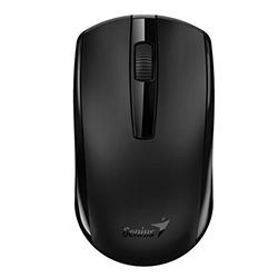 Mouse Eco-8100 Negro Wireless, Batería Recargable Nimh, Sensor Blue Eye Genius