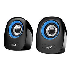 Parlante SP-Q160 Azul, 6w, USB, E. Audio 3.5mm, Control de Volumen Genius