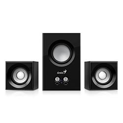 Parlante SW-2.1 385 Negro, 15w, Control de Volumen, Cable 1.5m, Genius