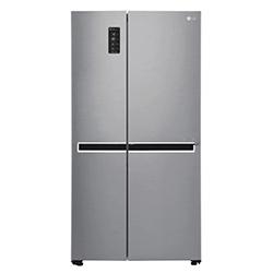 Refrigeradora GS65MPP1 Platinium Silver Inverter / 626 Litros 21 Pies /Panel Digital LG