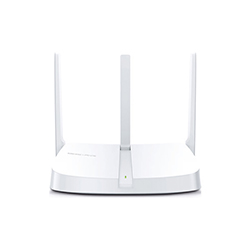 Router MW305R N300 3 ANT 1 10/100M WAN+3 10/100M LAN Control Parental, Red Invitados, Cifra Mercusys