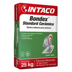 Bondex de 25kg Standard Cerámica Sobre Cemento