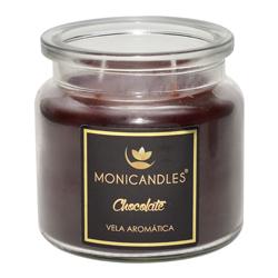 Vela Aromática con 2 Mechas Chocolate