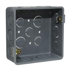 Caja Cuadrada de PVC de 5x5