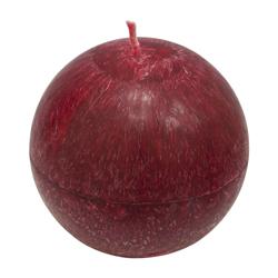 Vela Efecto Esfera Roja