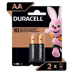 Pila Duracell AA Blister x2
