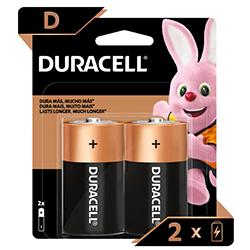Pila Duracell D Blister X2