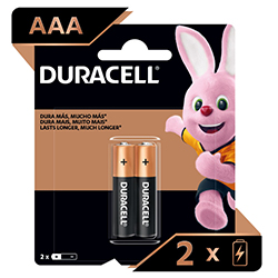 Pila Duracell AAA Blister X2