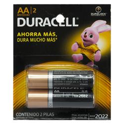 Pila Duracell AA X2 Card