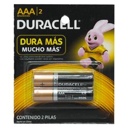 Pila Duracell AAA X2 Card