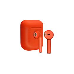 Audifonos Bluetooth  Cargador Portatil  Rojo Xtratech