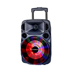 Parlante con Bateria Recargable USB Microfono Radio Xtratech