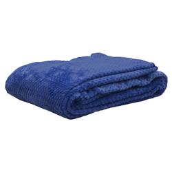 Cobija Plush Azul