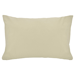 Funda de Almohada Cotton Touch Beige Chateau