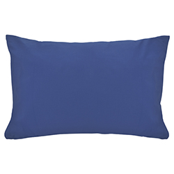 Funda de Almohada Cotton Touch Azul Chateau