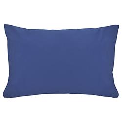 Funda de Almohada Cotton Touch Azul Chateau