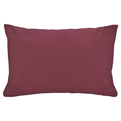 Funda de Almohada Cotton Touch Vino Chateau
