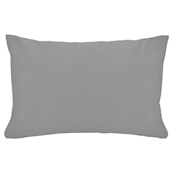 Funda de Almohada Cotton Touch Gris Chateau
