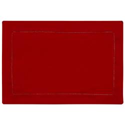 Individual Rojo de 30x45cm