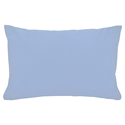 Funda de Almohada Cotton Touch Celeste Chateau