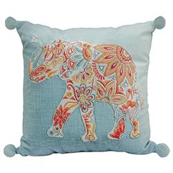 Cojín Elefante Colorido 45x45cm
