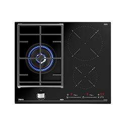 Cocina Mixta con 1 Quemador a Gas y 2 de Inducción Vitrocerámica de 50.5x60cm Teka