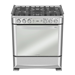 Cocina a Gas 5 Quemadores 76x94.5cm Mabe