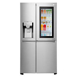 Refrigerador InstaView Door in Door Side by Side de 601 Litros con Dispensador de Agua LG