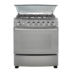 Cocina a Gas con 6 Quemadores y Plancha Grill Teka