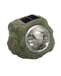 Lámpara Decorativa para Jardín, en Forma de Piedra y Resistente al Agua