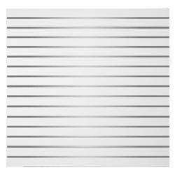 Plancha de Exhibición con Ranuras de Aluminio