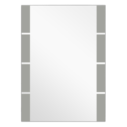 Espejo Vertical Con Laterales Arenados