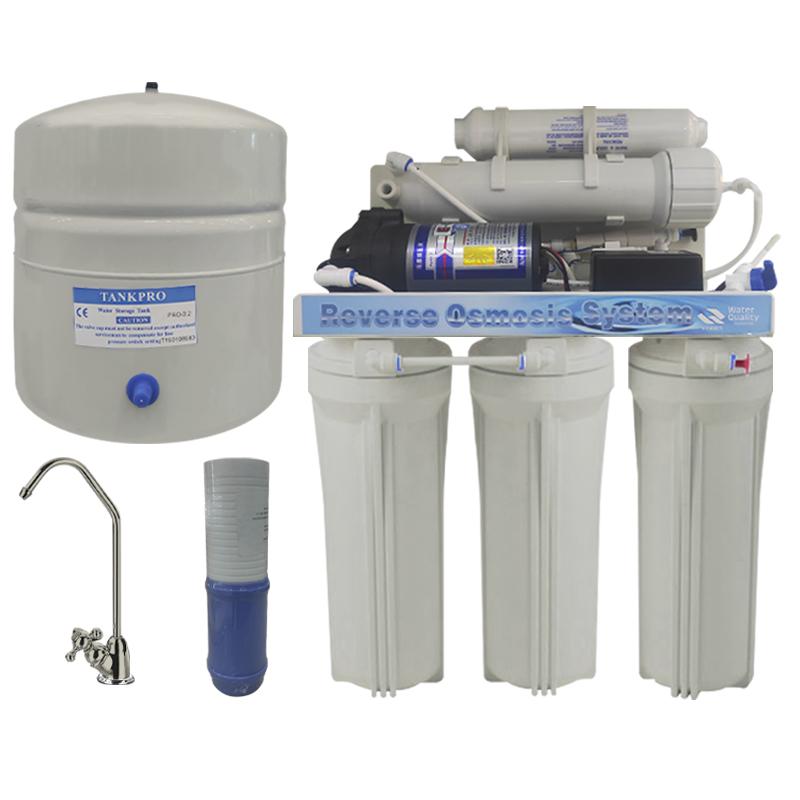 Filtro Purificador con Sistema Osmosis Inversa