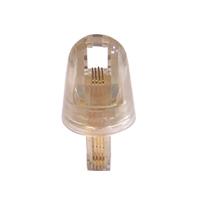 Conector Anti-Endrede Giratorio Para Teléfono 4 Hilos