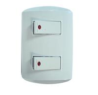 Material Eléctrico / Interruptor Doble Con Luz Piloto