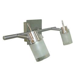 Lámpara móvil de 2 Spots Linterna