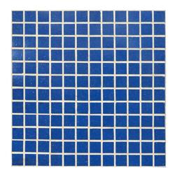 Mosaico de Vidrio Azul 32.7x32.7cm (.107)
