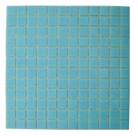 Mosaico de Vidrio Celeste 32.7x32.7cm (.107)