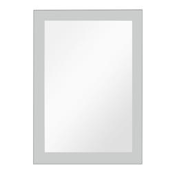 Espejo con bordes arenados