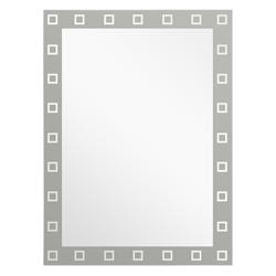 Espejo Arenados Con Cuadritos