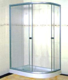 Mampara Semi Circular 85 x 120 x 194 cm
